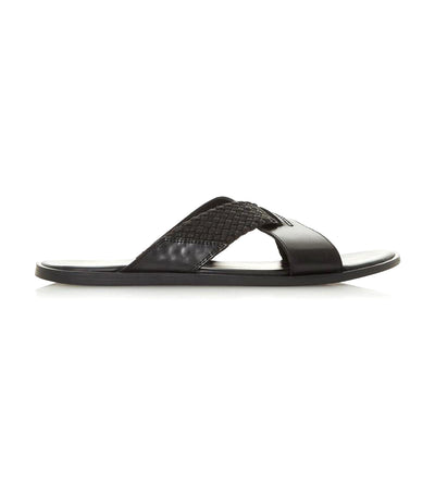 Infuse Di Crossover Sandals Black