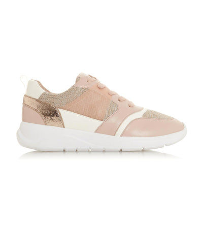 Elecktro Blush Logo Badge Trainers