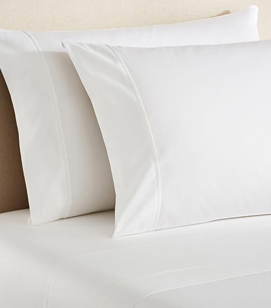Pottery Barn PB Essential 300-Thread-Count Flat Cotton Sheet
