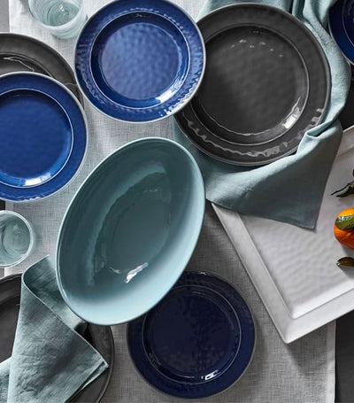 Pottery Barn Cabana Melamine Dinnerware Collection - Charcoal
