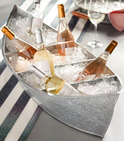 Pottery Barn Galvanized Boat Party Cooler