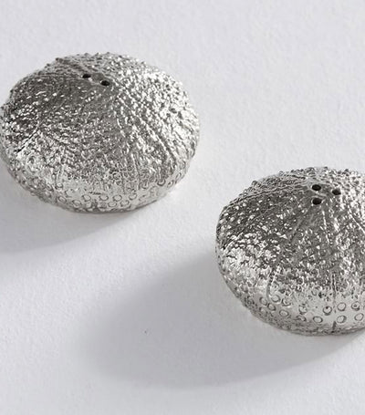 Pottery Barn Sea Urchins Salt & Pepper Shakers