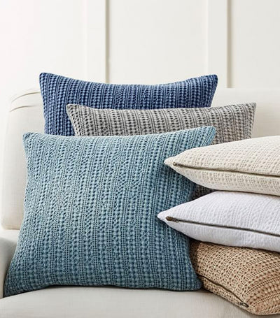 Pottery Barn Honeycomb Pillow Cover