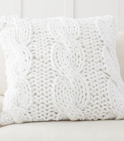 Pottery Barn Colossal Handknit Pillow Cover