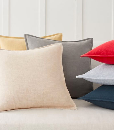Pottery Barn Organic Cotton Casual Pillow Cover