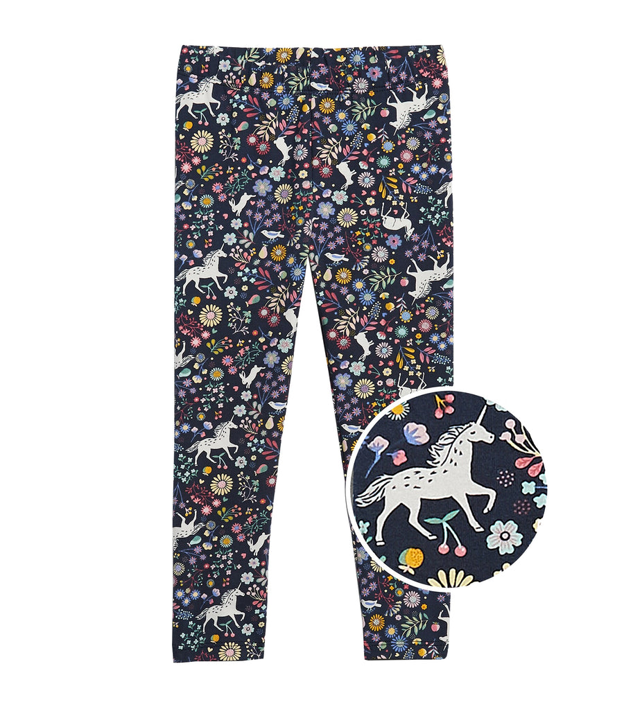 gap kids unicorn blue toddler mix and match printed leggings
