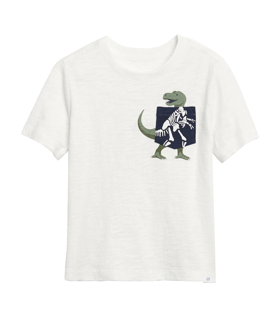 gap kids new off white toddler interactive pocket graphic t-shirt