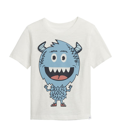 gap kids new off white toddler graphic t-shirt