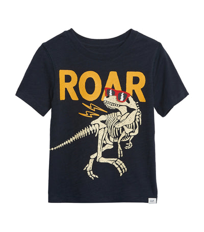 gap kids navy toddler graphic t-shirt