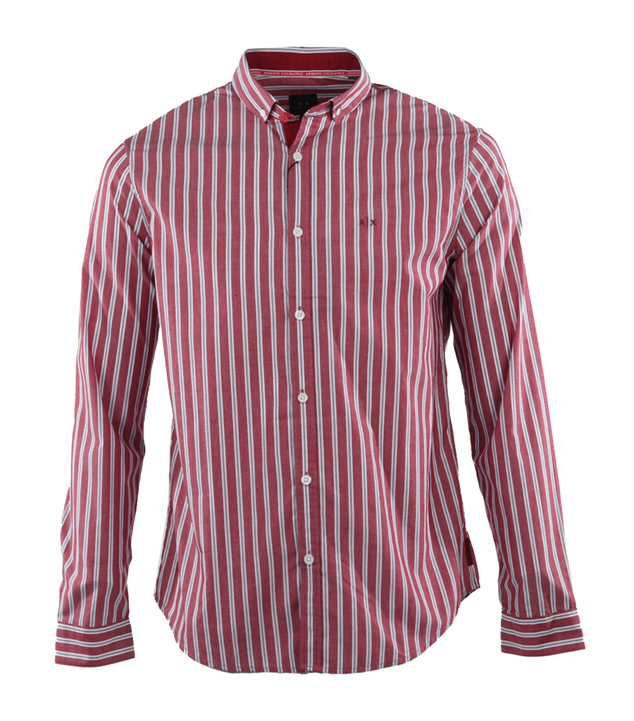 Striped Shirt Red Resorts Stripe