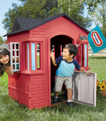 little tikes cape cottage playhouse™ - red
