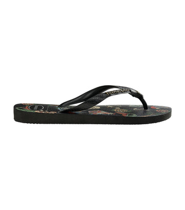 Top Tribo Flip Flops Black