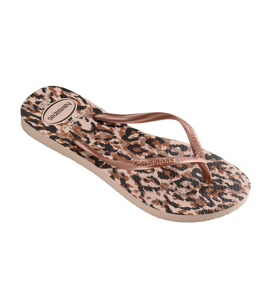 Women's Slim Animals Flip Flops Ballet Rose
