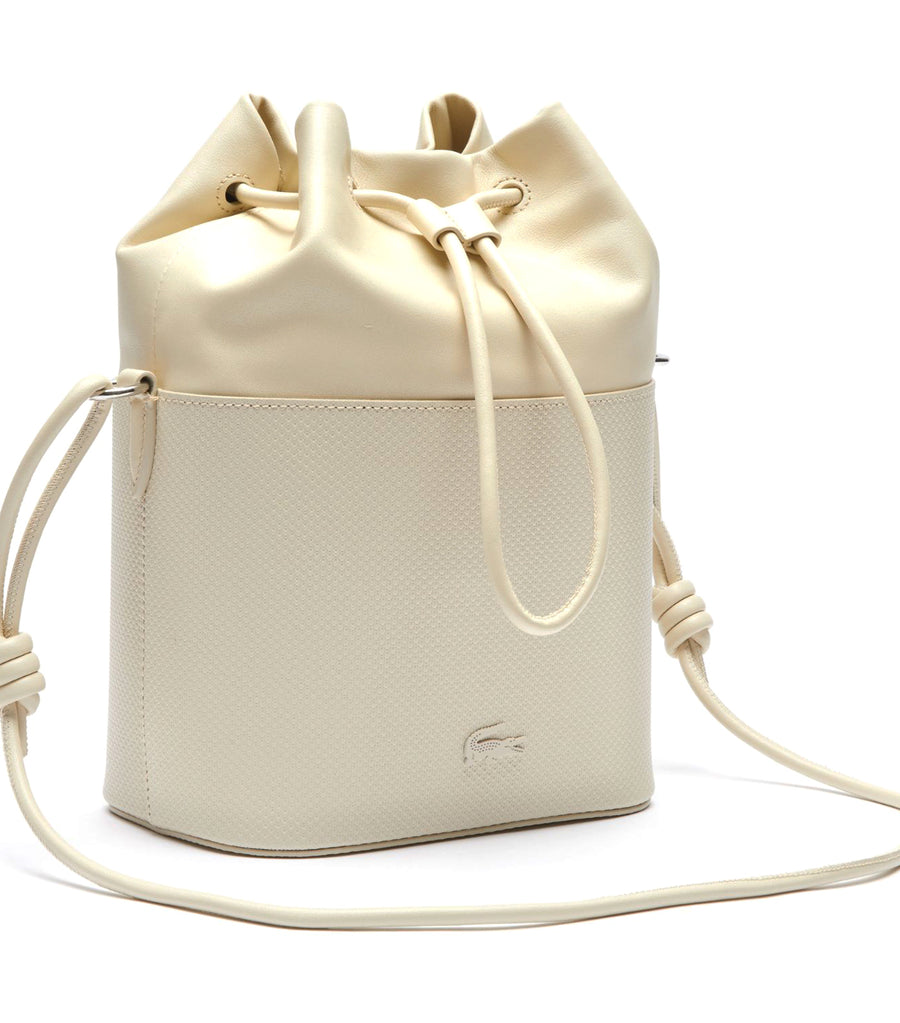 Women's Chantaco Bucket Bag with Cord Strap Platine