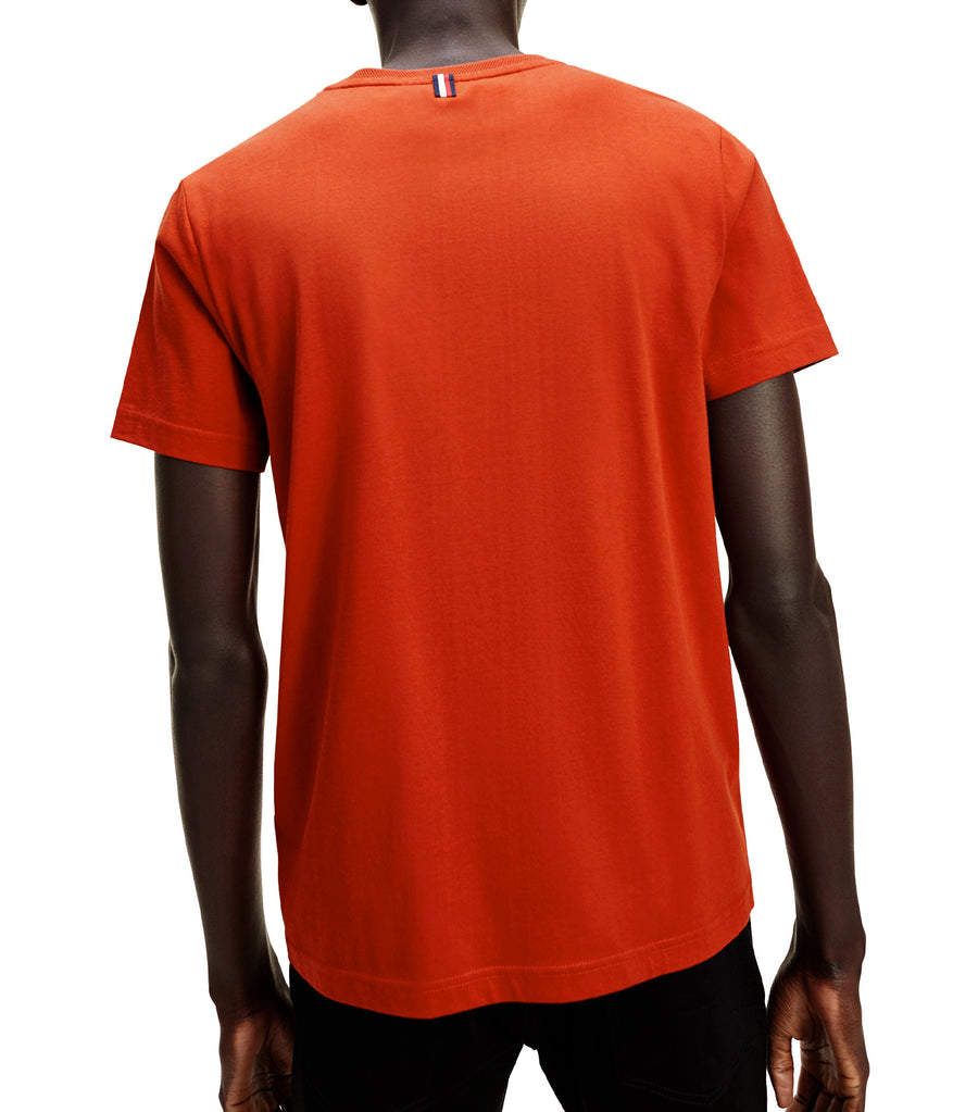 Mercedes-Benz Textured Collar T-Shirt Rooibos Tea