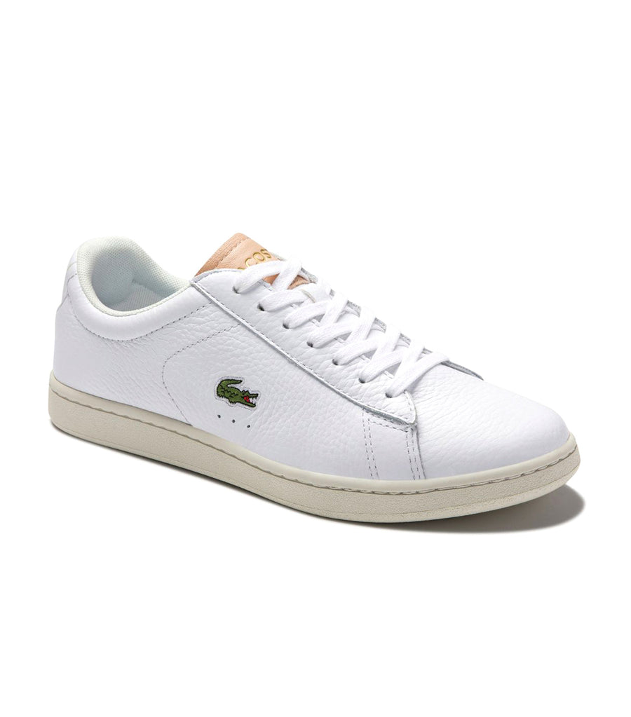 Women's Carnaby Evo 0120 3 Leather And Textile Sneakers White-Natural
