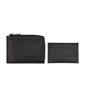 Le Foulonné 2-In-1 Wallet Black