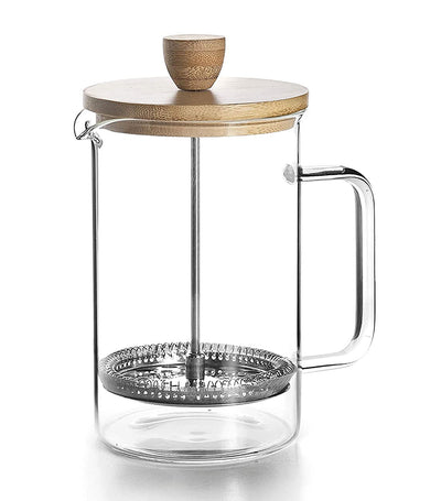 Lacor French Coffee Maker Wood Lid