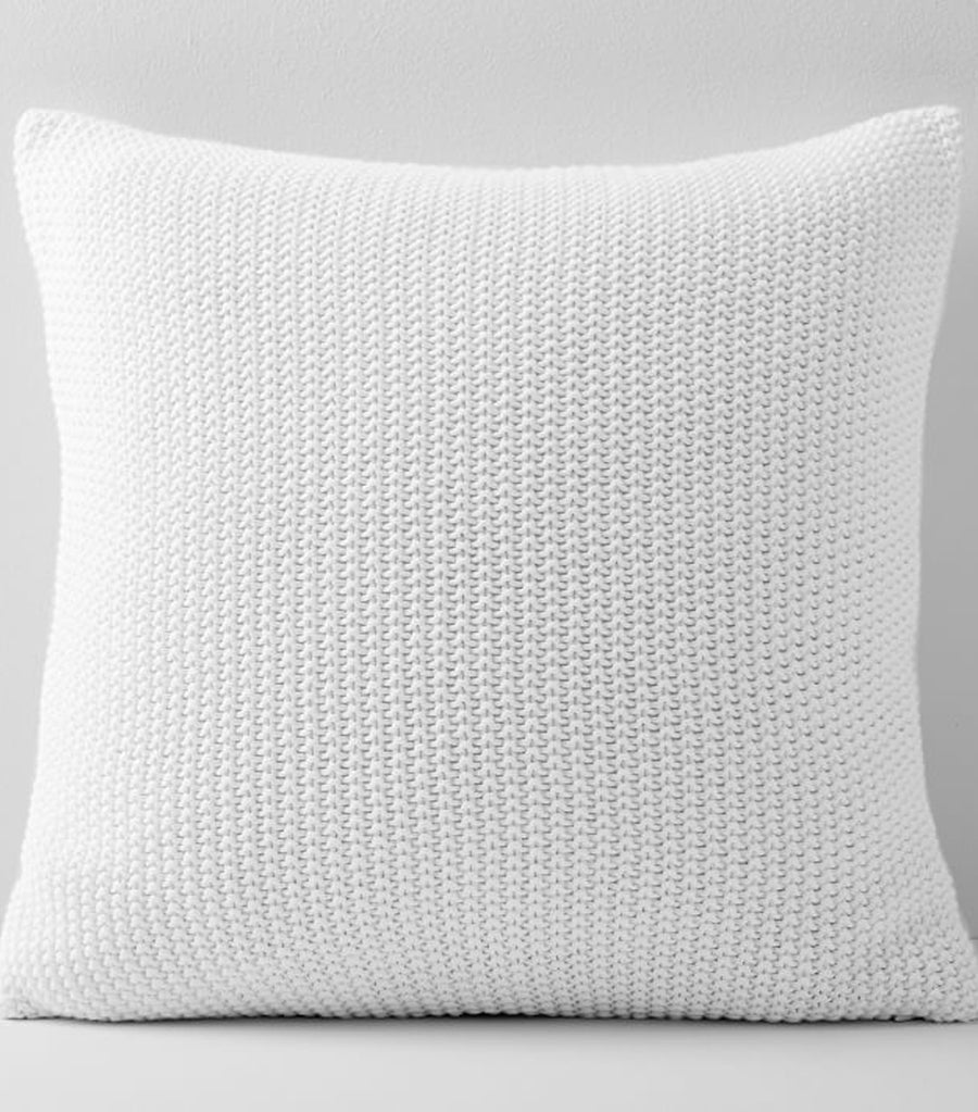 west elm Cotton Knit Pillow Cover