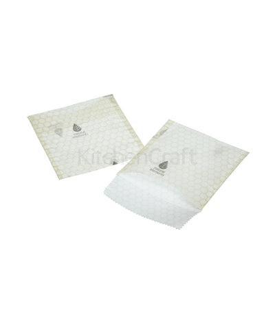 Elements Eco-Friendly Set of Two Beeswax Sandwich Bags