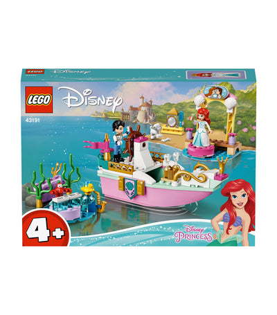 lego® disney ariel's celebration boat