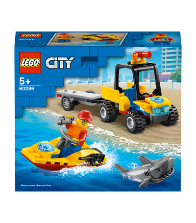 lego® city beach rescue atv