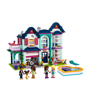 lego® friends andrea's family house