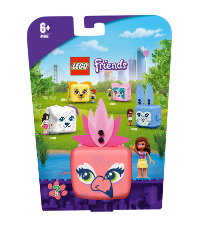 lego® friends olivia's flamingo cube