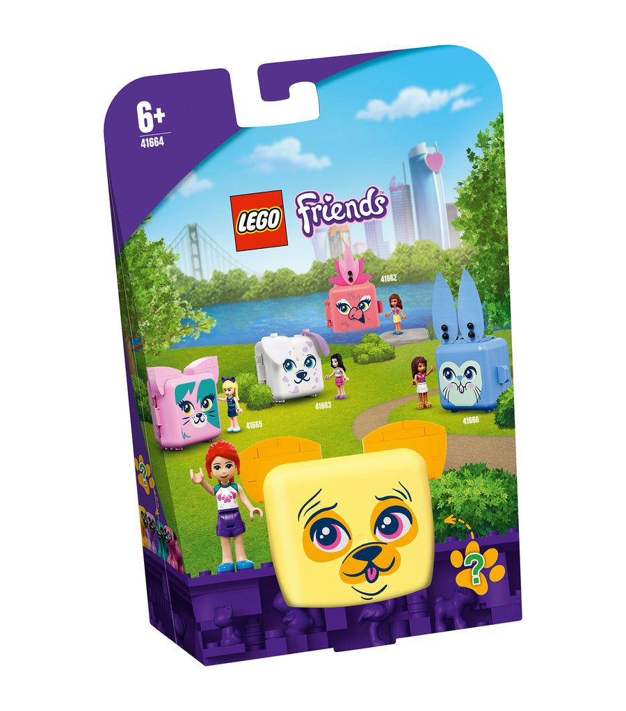 lego® friends mia's pug cube