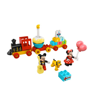 lego® duplo® disney mickey & minnie birthday train