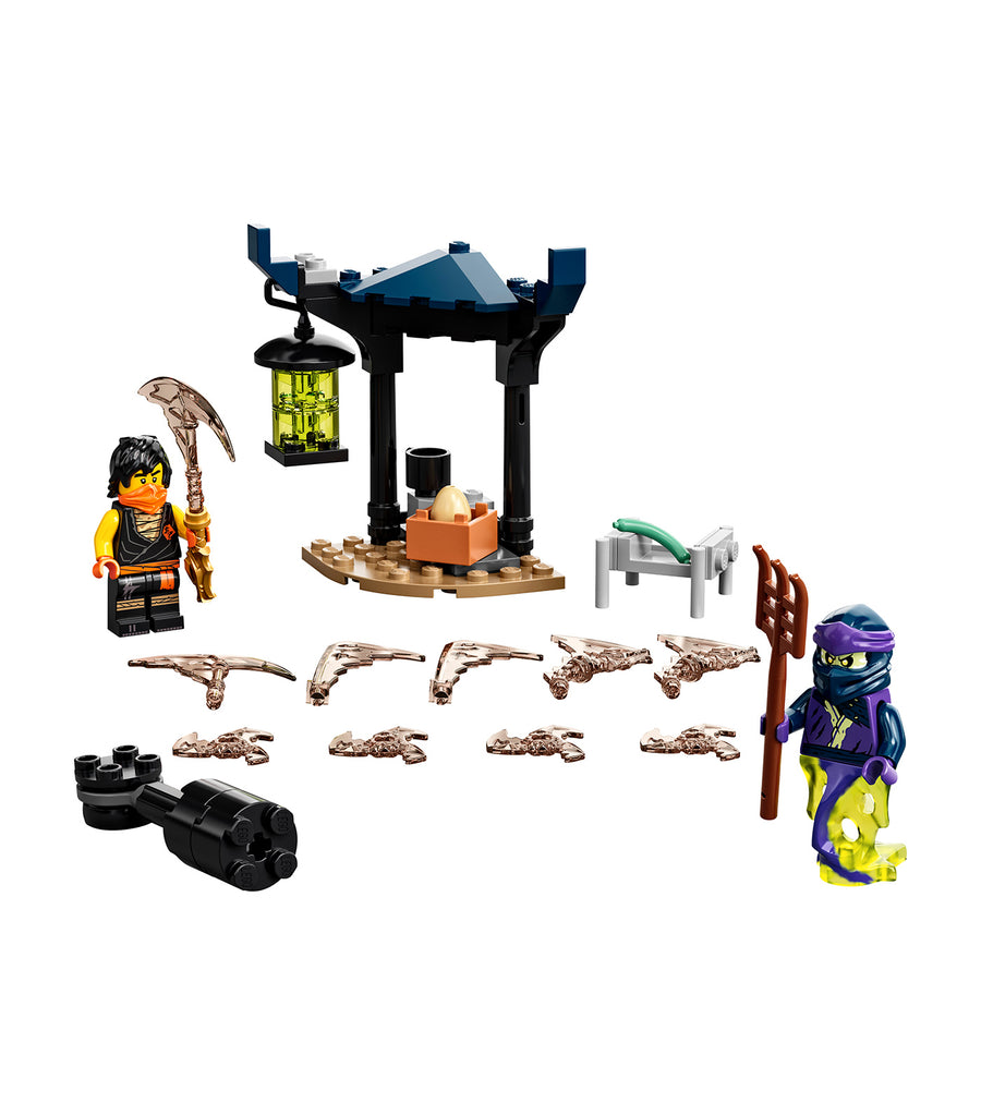 lego® ninjago® epic battle set - cole vs. ghost warrior