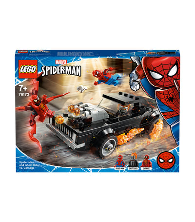 lego® marvel spider-man: spider-man and ghost rider vs. carnage