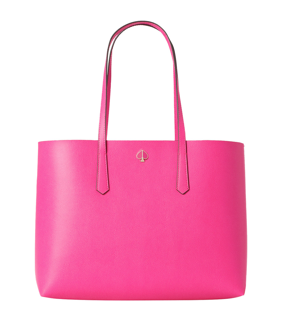 Molly Cabana Dot Pop Large Tote Shocking Magenta