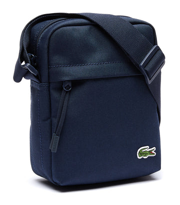 lacoste men's neocroc vertical bag - peacoat