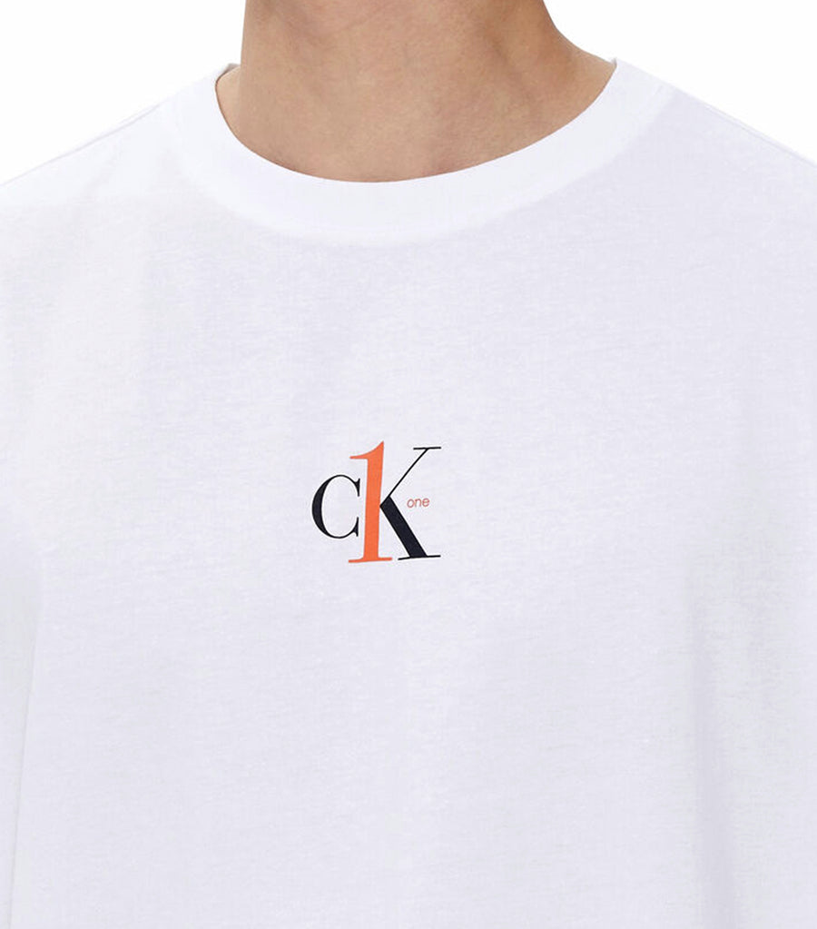 CK One Relaxed Fit Tee White