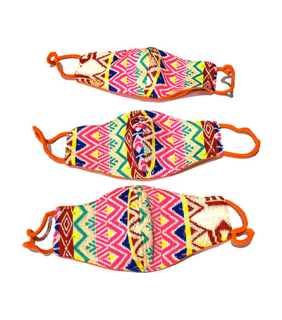 Lima Mask Pink/ Orange - 1 Piece