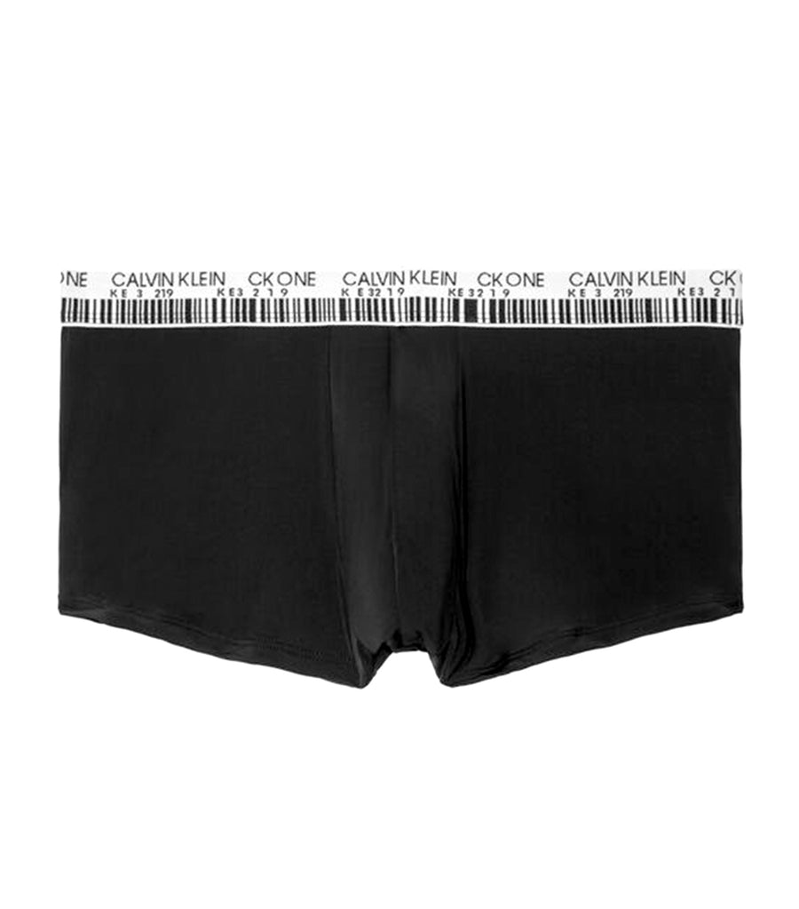 CK One Jacquard Low Rise Trunk Black