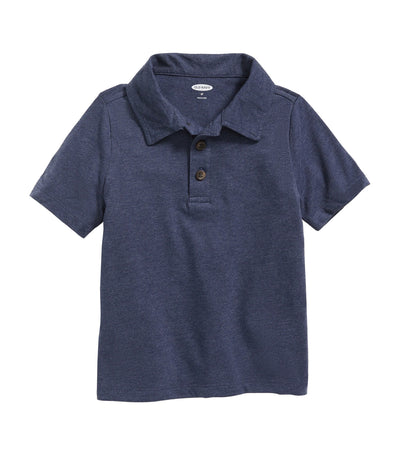 old navy toddler jersey short-sleeve polo - lost at sea navy
