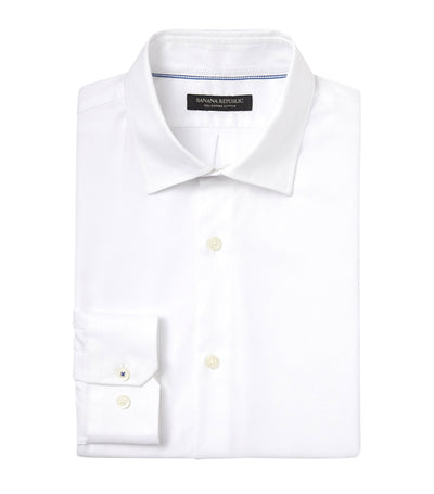 Standard-Fit Non-Iron Dress Shirt White