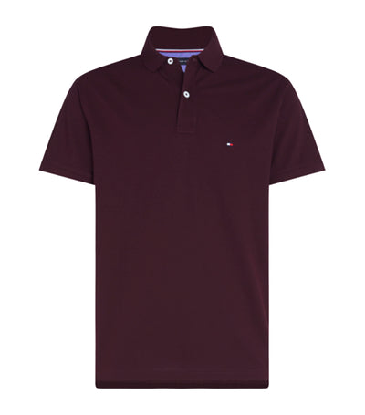 Tommy Regular Polo in Deep Burgundy