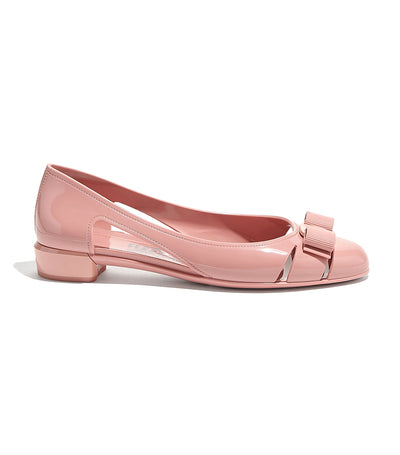 Jelly Ballet Flat With Vara Bow Desert Rose