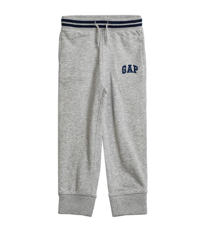Toddler Logo Pull-On Joggers - Light Heather Gray