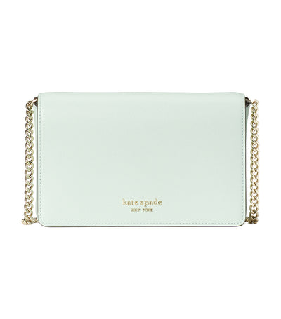 Spencer Chain Wallet Crystal Blue