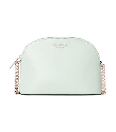 Spencer Small Dome Crossbody Crystal Blue