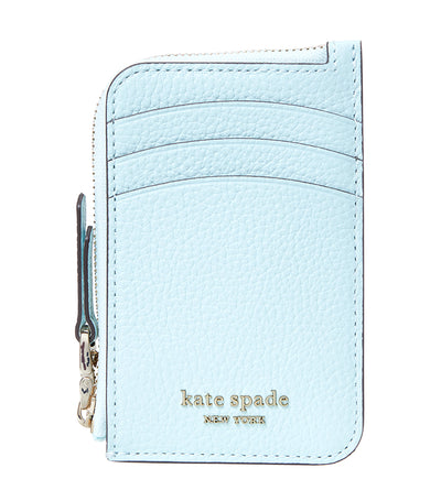 Roulette Zip Card Holder Blue Glow
