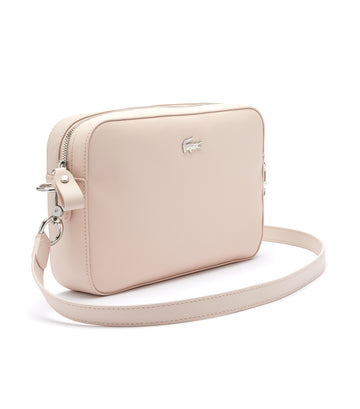 Women's Daily Classic Coated Canvas Shoulder Bag Rose Dust