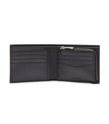 Men's Chantaco Billfold 8 Card Wallet Noir
