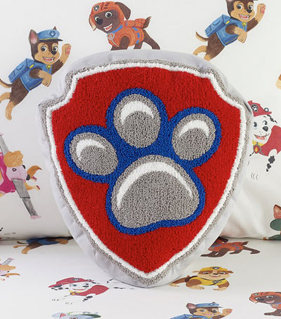 pottery barn kids paw patrol™ shield pillow