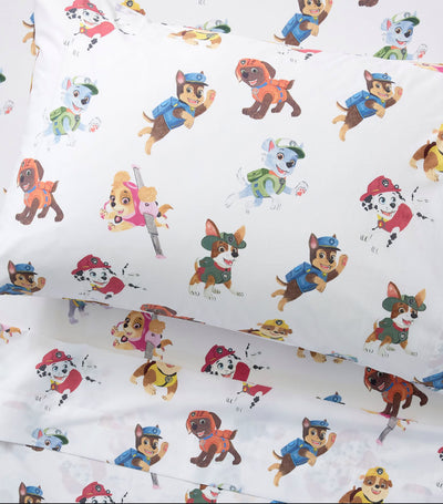 pottery barn kids paw patrol™ organic sheet set