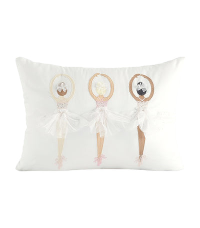 pottery barn kids ballerina pillow